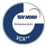 BWA is VCA** gecertificeerd