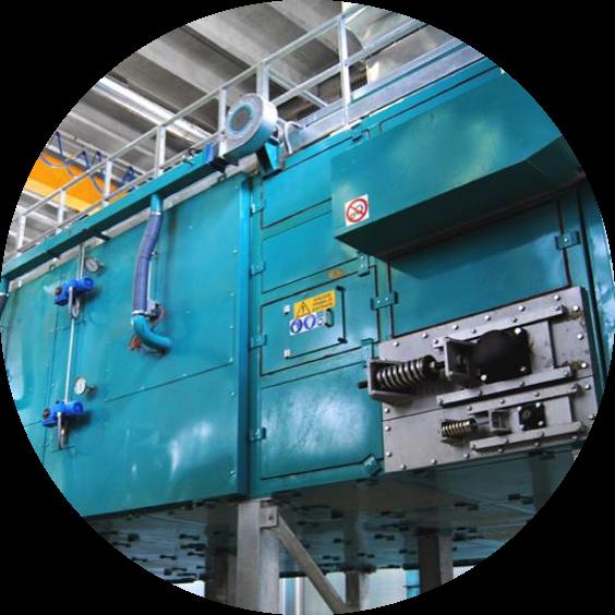 Banddroger - Belt dryer - Drogen - Drying