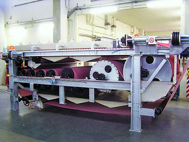 Dewatering: Belt Press BPF WR Greenland for biological sludge